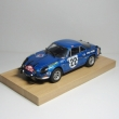 Renault Alpine A110 1600S / Andruet-Vial / Rally Monte Carlo 1971(Kyosho)